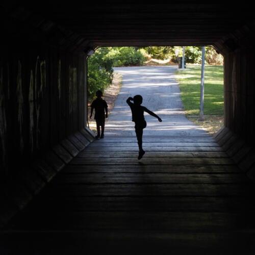 Greenbelt tunnel, Davis, CA, USA